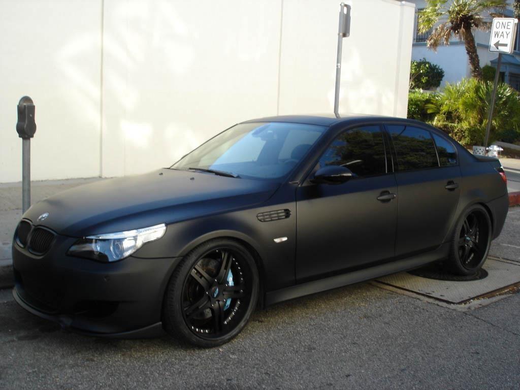 Bmw E60 Matte Black Matte Black Bmw Black Audi Bmw