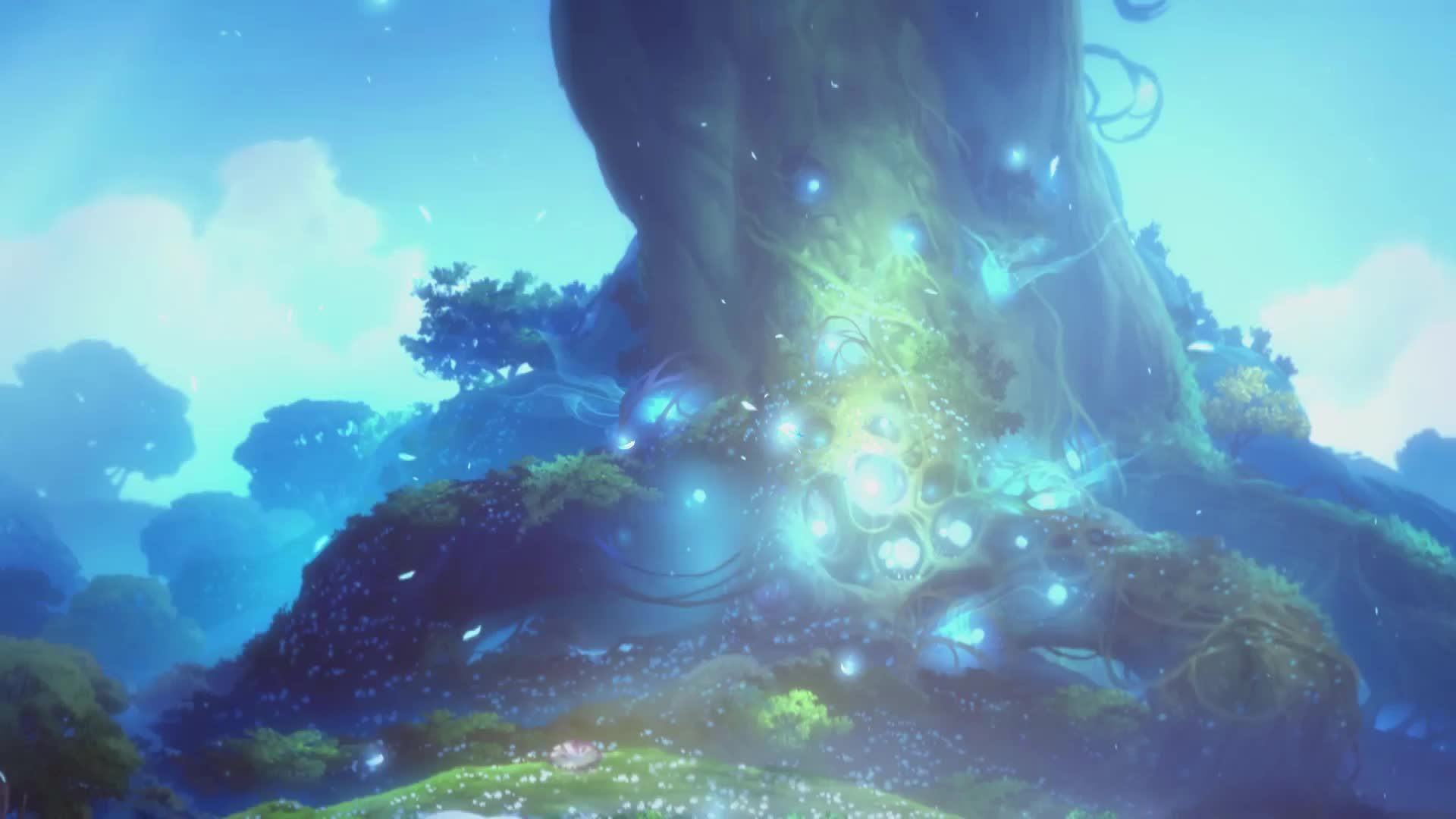 Ori And The Blind Forest Full Live Wallpaper Desktophut Gaming Wallpapers Anime Scenery Live Wallpapers
