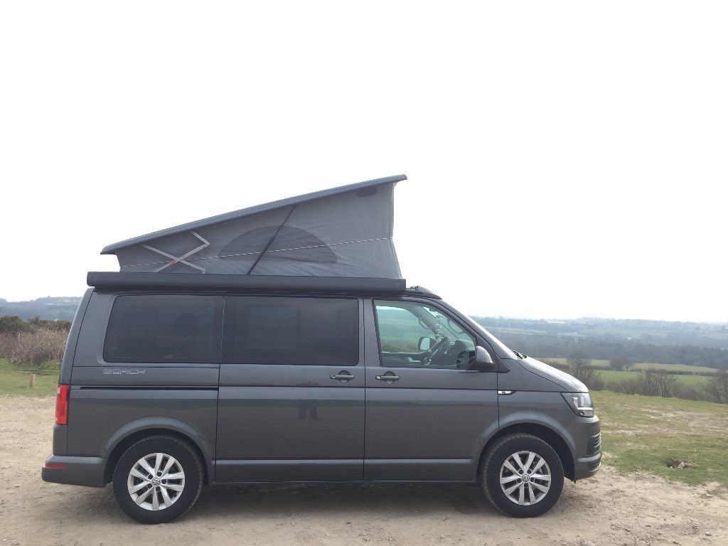 vw t6 california beach campervan in budleigh salterton. Black Bedroom Furniture Sets. Home Design Ideas