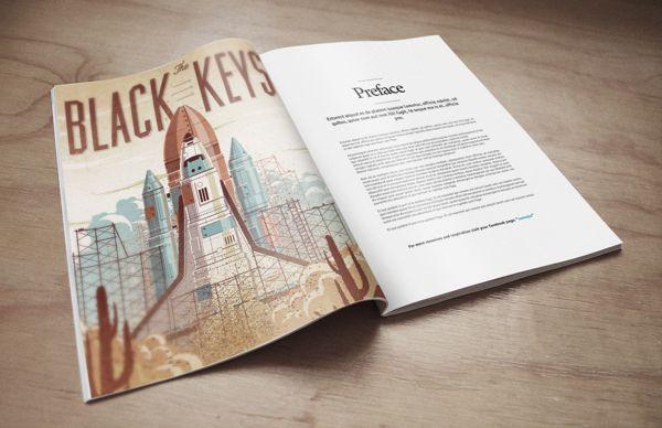 Magazine Mock-Up PSD Freebie by Eduardo Mejia, via Behance