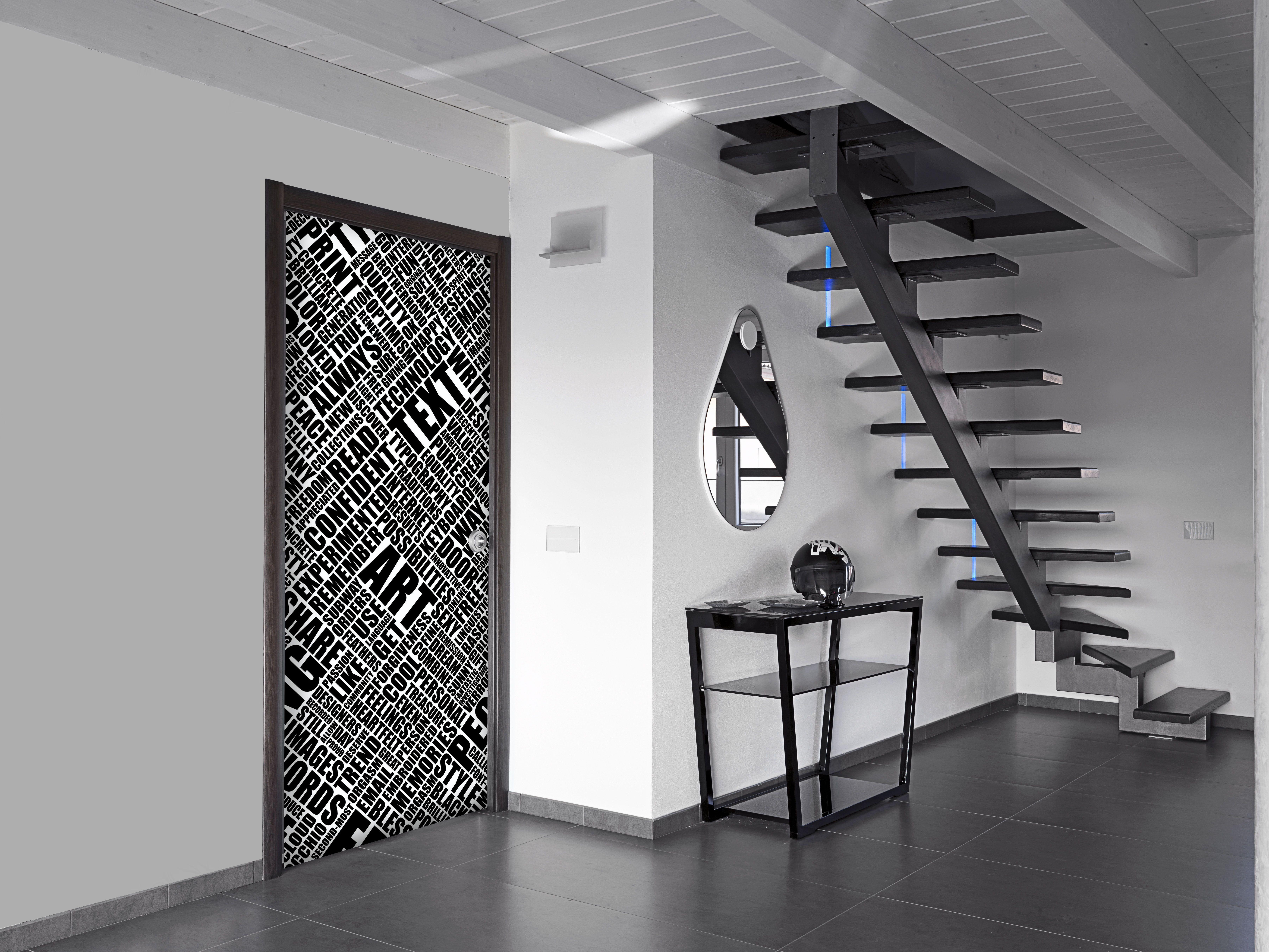 VERROCCHIO DESIGN TEXT ART INTERIOR GLASS DOOR Doors Pinterest