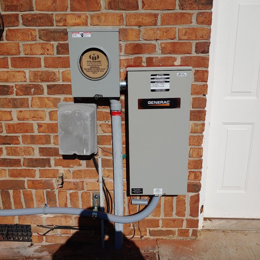 200 Amp Transfer Switch Install In 2020 Transfer Switch Electricity Switch