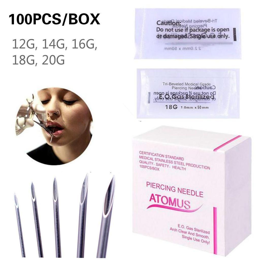 Nose piercing over 50   GBP  Pro Pcs Body Piercing Needle Mixed Gauge