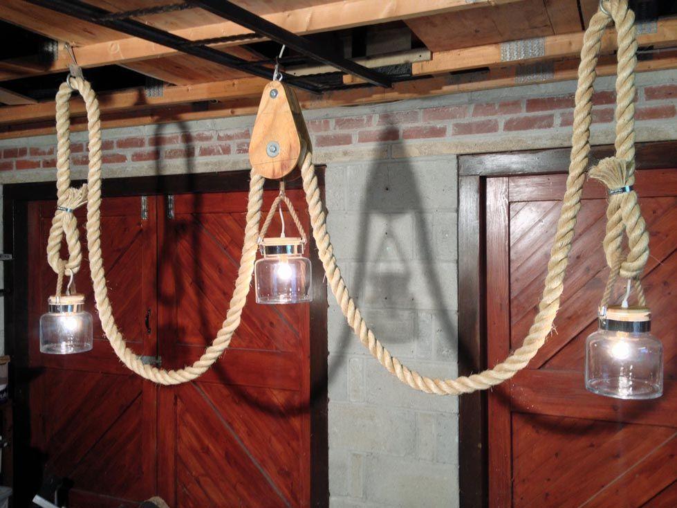 Nautical Rope Light Fixtures Nautical Rope Light Fixtures