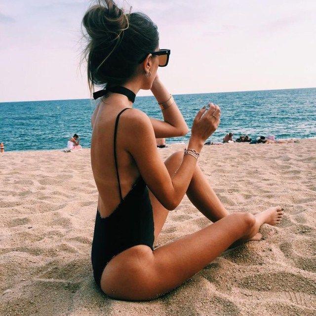 Inspiração: fotos criativas na praia para instagram Inspiração: fotos criativas na praia para instagram - Postura Feminina
