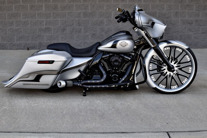 Harley Davidson Bagger Street Glide By The Bike Exchange Harley