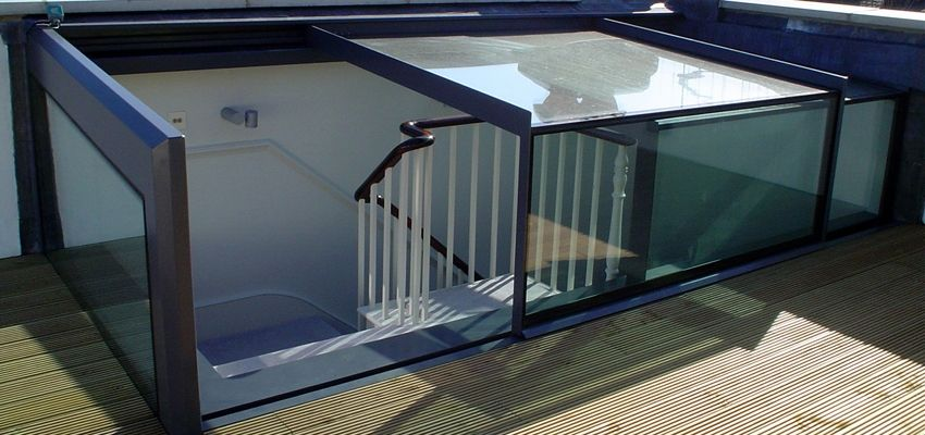 Glazing Vision Home Rooftop Design Small House Elevation Design Roof Light