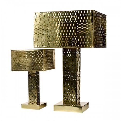 Pols potten lamp josephine small brass