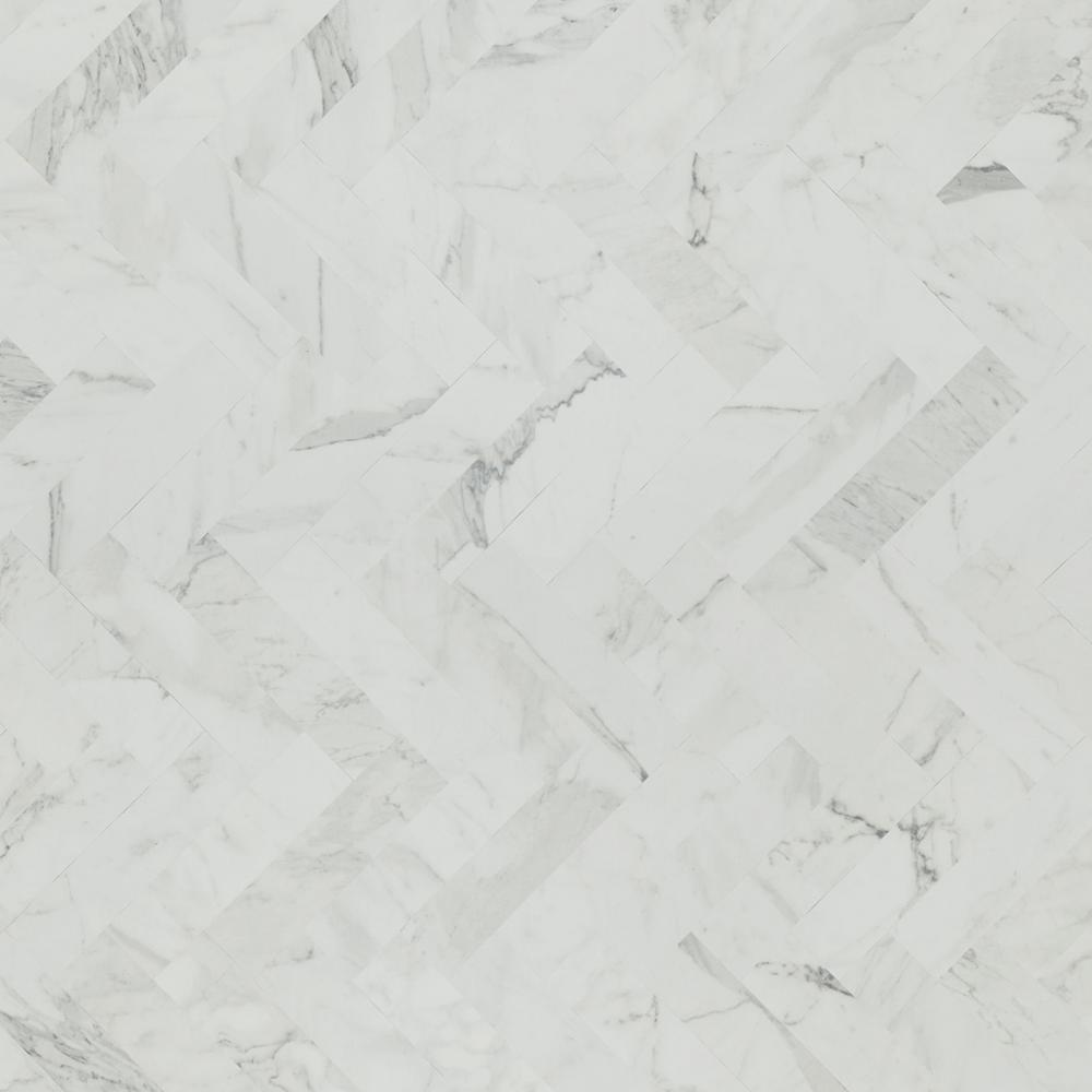Formica 5 In X 7 In Laminate Countertop Sample In White Marble