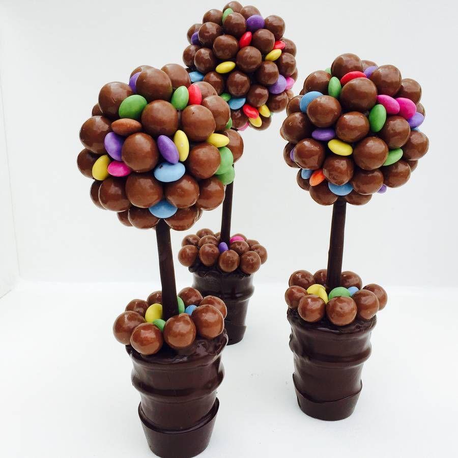Malteser And Smarties Chocolate Tree | Smarties chocolate ...