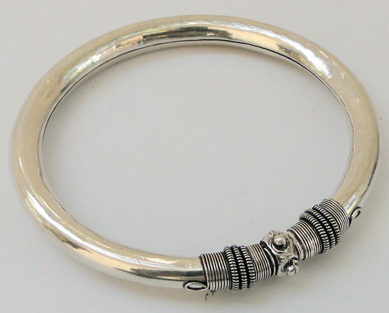 8c4ad38b449 925 STERLING SILVER ANKLET ANKLE BRACELET JEWELRY BANGLE | Ethnic ...