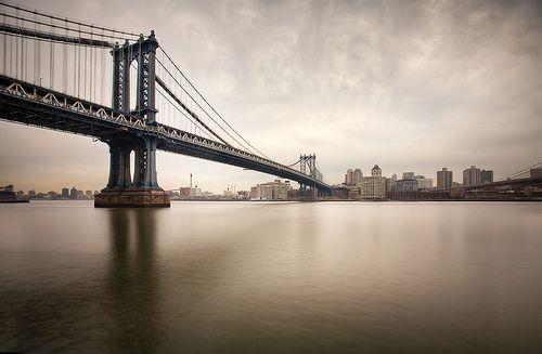 The Manhattan Bridge ,NYC