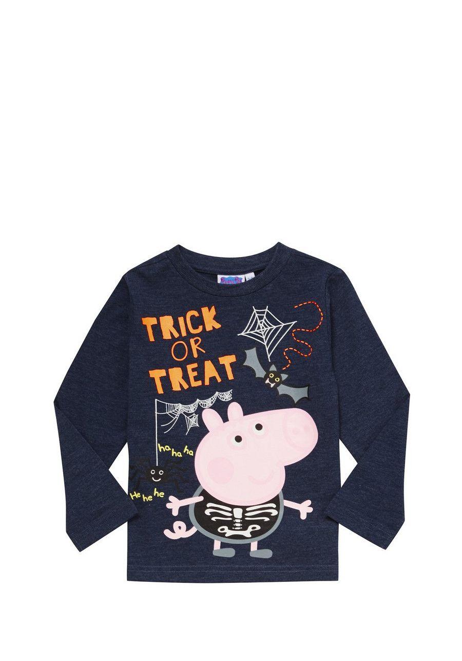 Clothing at Tesco | Peppa Pig Halloween George Long Sleeve T-Shirt ...