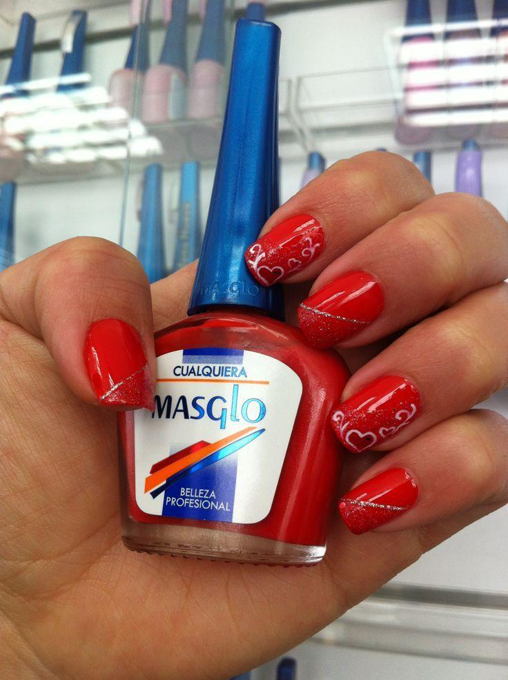 SanValentin #MASGLO - Esmalte CUALQUIERA | Uñas Masglo | Pinterest ...