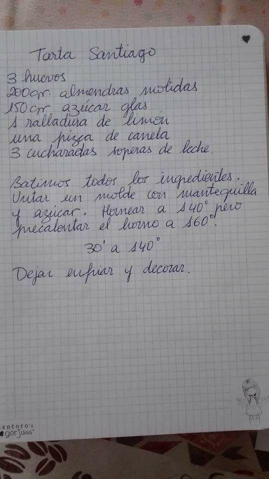 :) Tarta Santiago | Más en https://lomejordelaweb.es/
