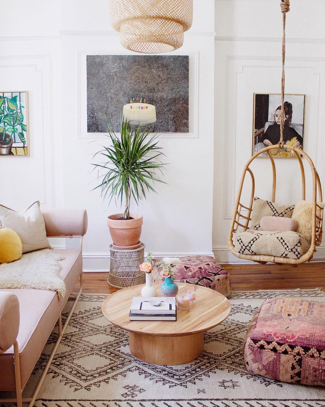 Obsessed With This Boho Chic Living Room Decor Boho Chic Living