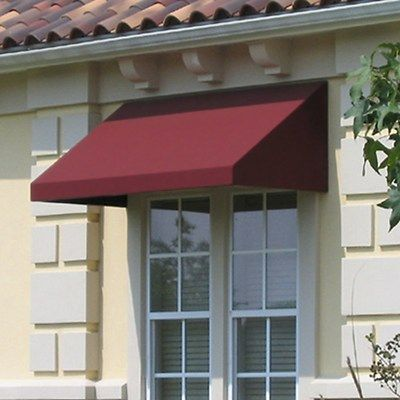 The Awntech Beauty Mark New Yorker Rigid Valance Awning Is Designed For Use Over A
