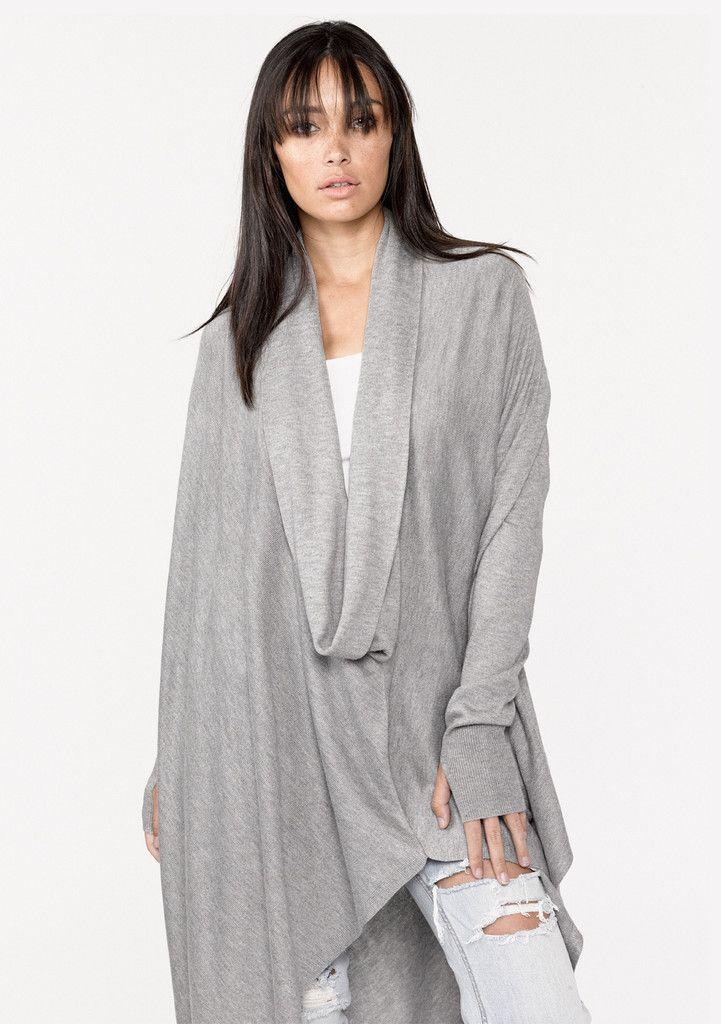 b0a2b4b681e Berlin Sweater  asymmetrical-sweater  cowl-neck  drapey  luxe  oversized   poncho  thumbholes