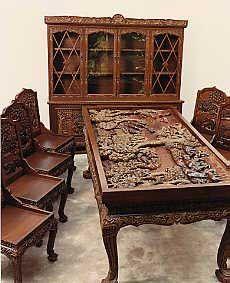 Carved Wood Furniture Hand Carved Furniture Carved Wooden
