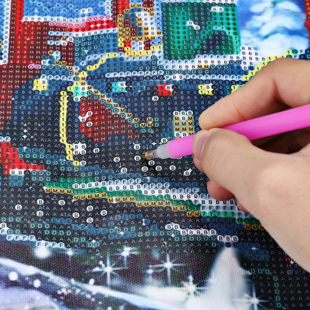 DIY 5D Diamond Painting Embroidery Cross Crafts Stitch Christmas Home
