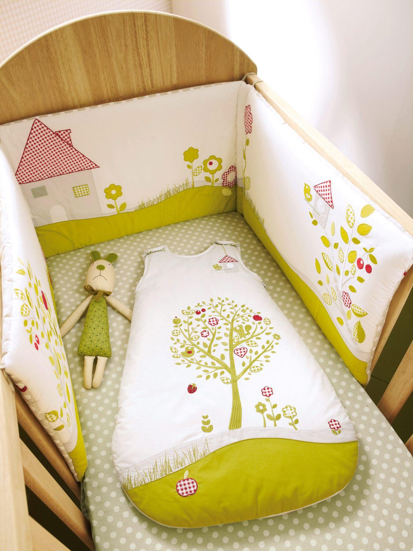 Protector cuna beb cunas pinterest beb manta y bebe - Protectores para cama cuna ...