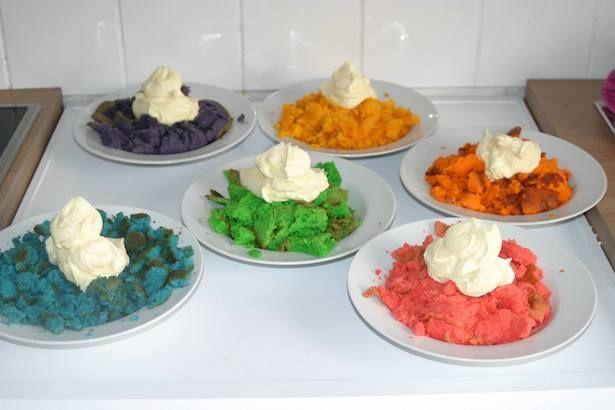 Tolla Regenbogen Cake Pops - der Hit bei jedem Kindergeburtstag