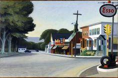 Portrait of Orleans by Edward Hopper, 1950, Fine Arts Museums of San Francisco.