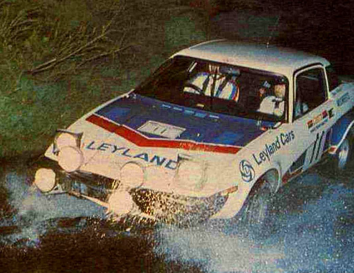 1976 Manx Rally (Pond Tony - Richards David) Triumph TR7 | Rally ...