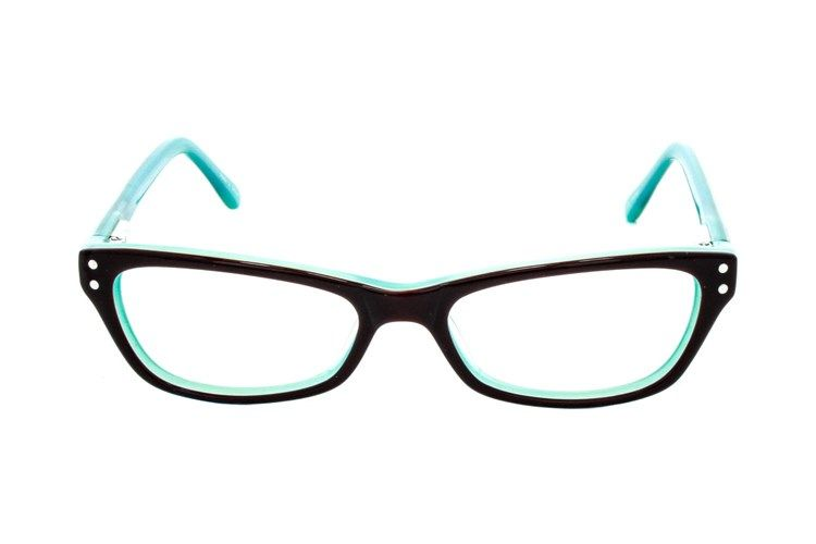 60171c0c1905 These turquoise throwback Lunettos Candy cat-eye glasses are retro-chic  that ll have you dreaming of sock hops and saddle shoes.