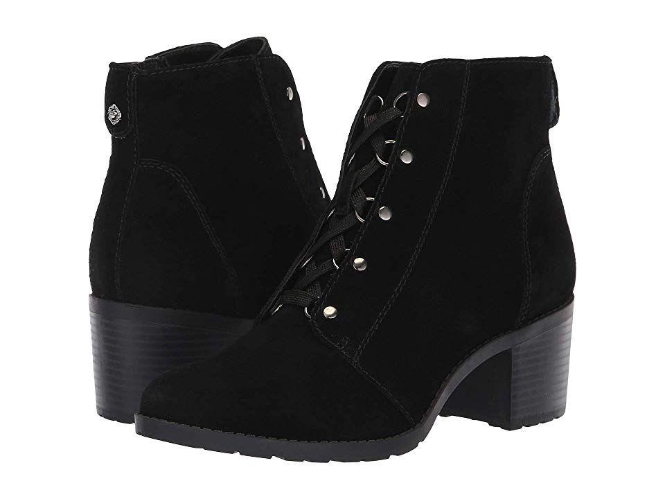 Anne Klein Kimbree Boot (Black Suede