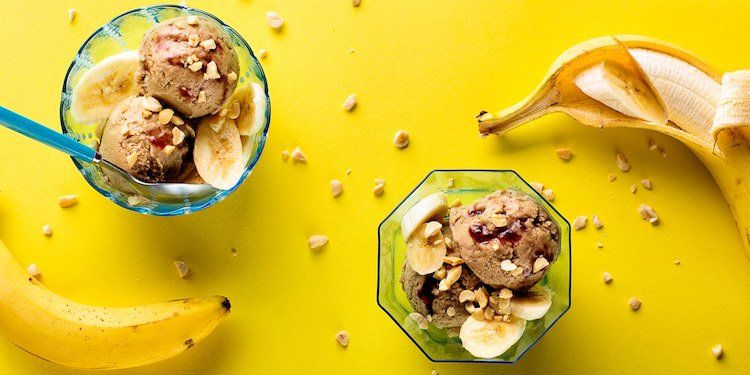 Glace maison saine et délicieuse : succombez au délice vegan Nice cream
