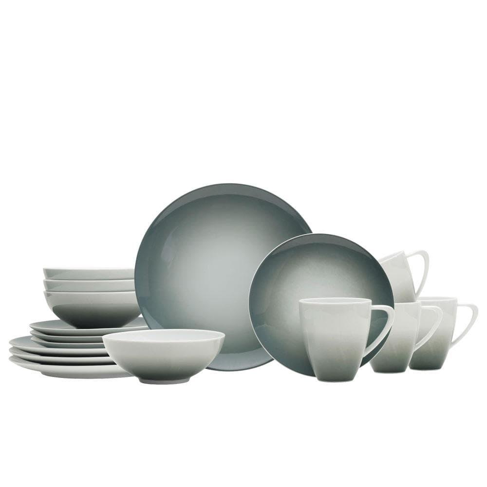 Photo of Naya Grey 16 Piece Dinnerware Set, Service for 4