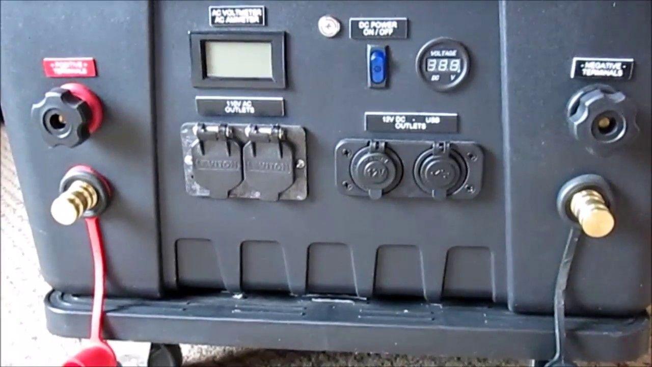 Diy Portable Solar Power Generator Part 4 Portable Solar Power Diy Solar Solar Panel Installation