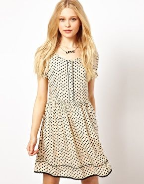 River Island Spotty Dress 4156 Its All About The Dress