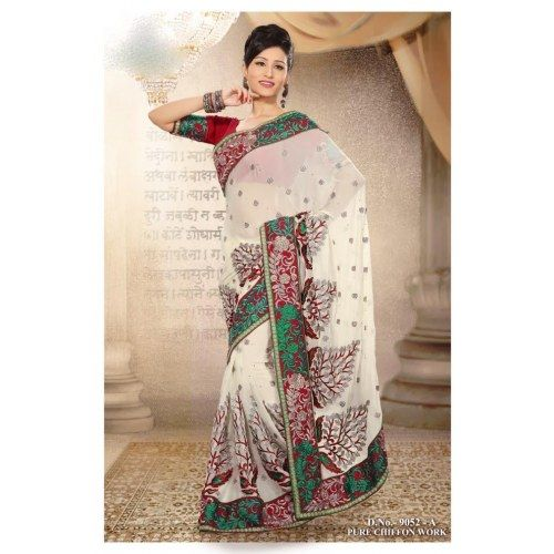 Wedding White Sarees Online: Timeless Beauty Off White Saree