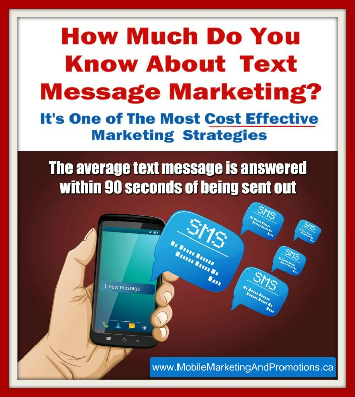 How Much Do You know About Text Message Marketing? Watch this video: http://youtu.be/2C-eaaR-tVE
