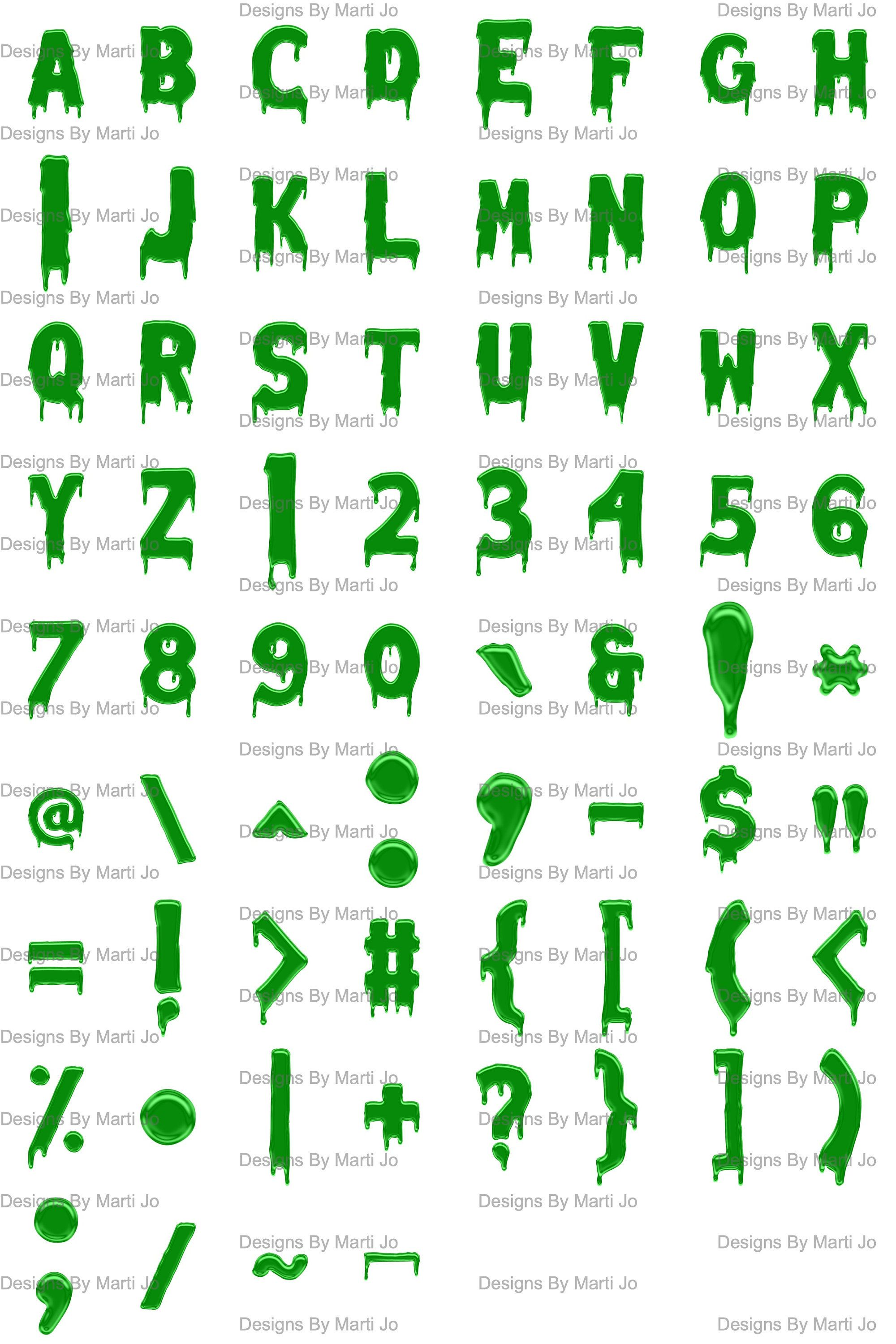Green Drippping Paint Letters Png Printable Dripping Letters Etsy Painted Letters Lettering Alphabet Dripping Letters