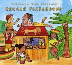 Putumayo Reggae Playground- fun songs, CDs, and videos for kids to learn about reggae! I love world music lessons for kids to be exposed to different genres.