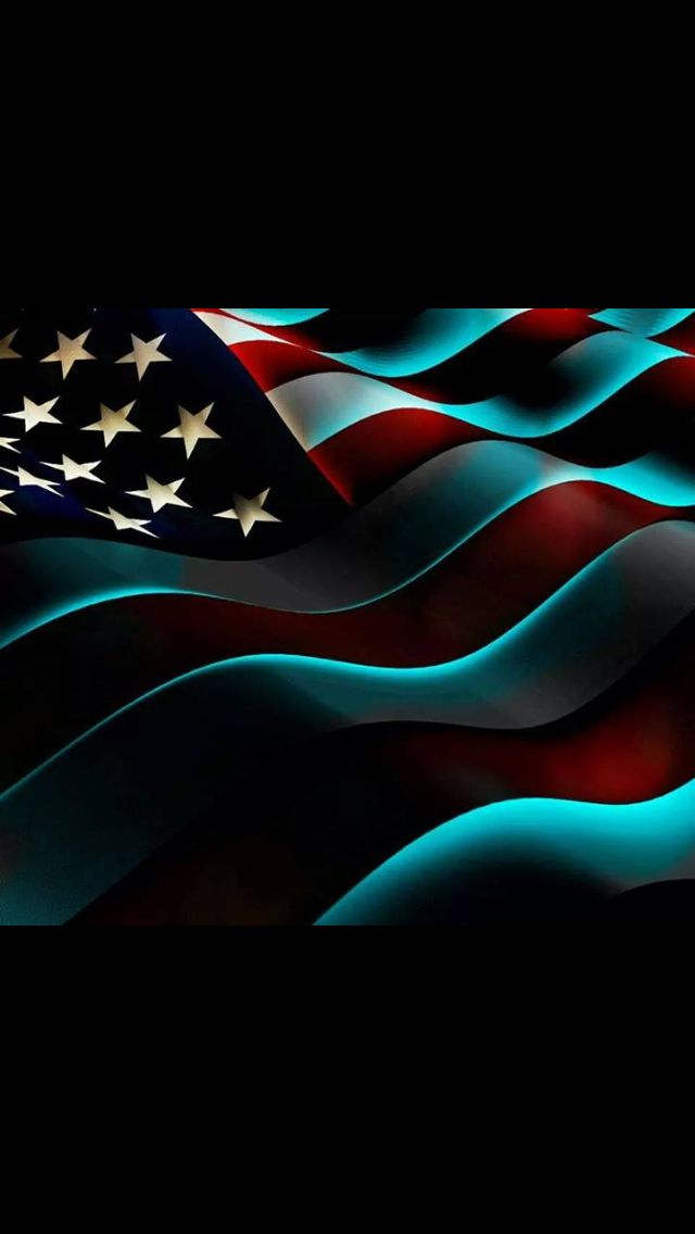 Neon colors (With images) American flag wallpaper