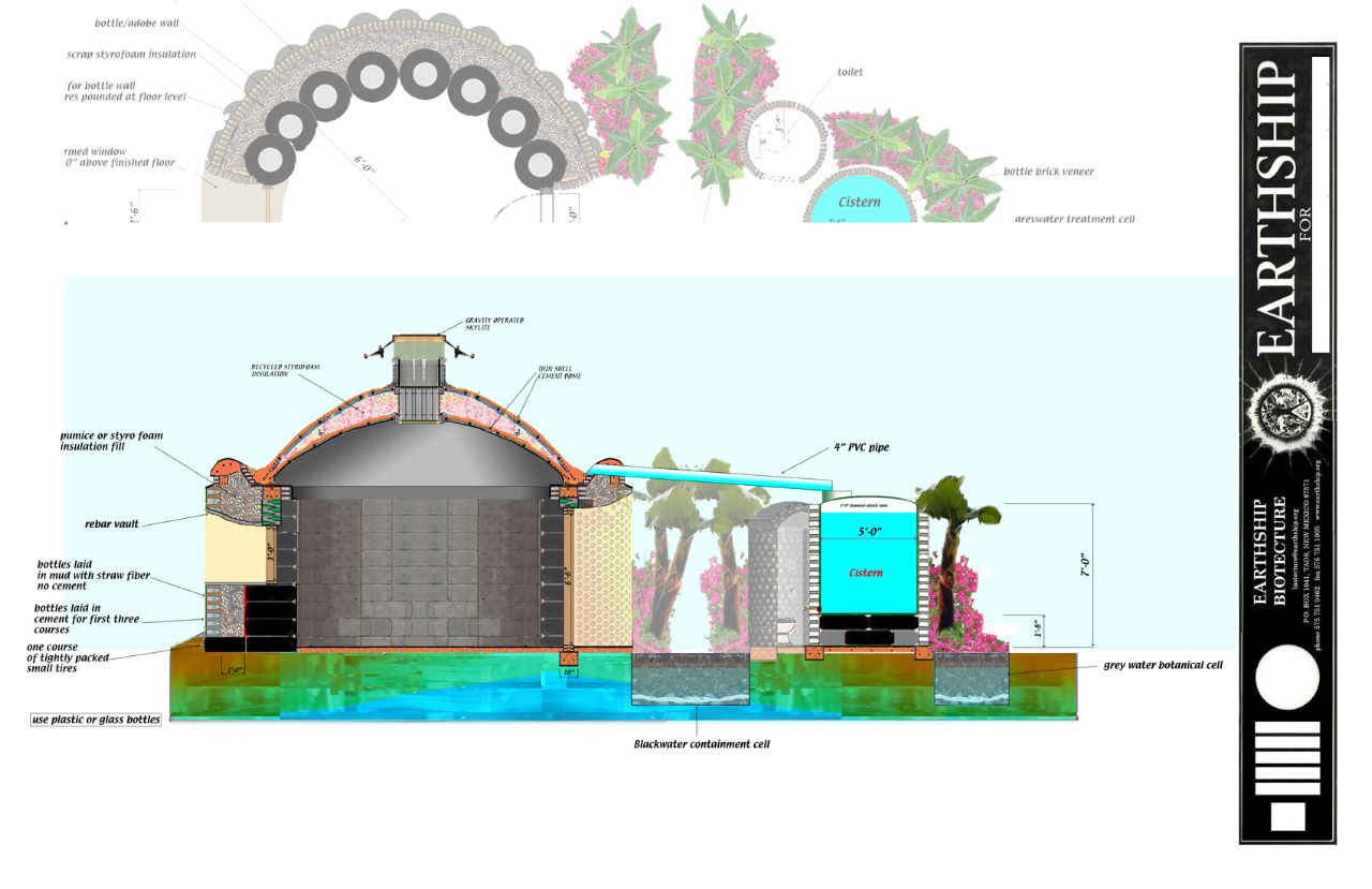 Earthship plans and designs pictures - Haiti Earthship Google Search