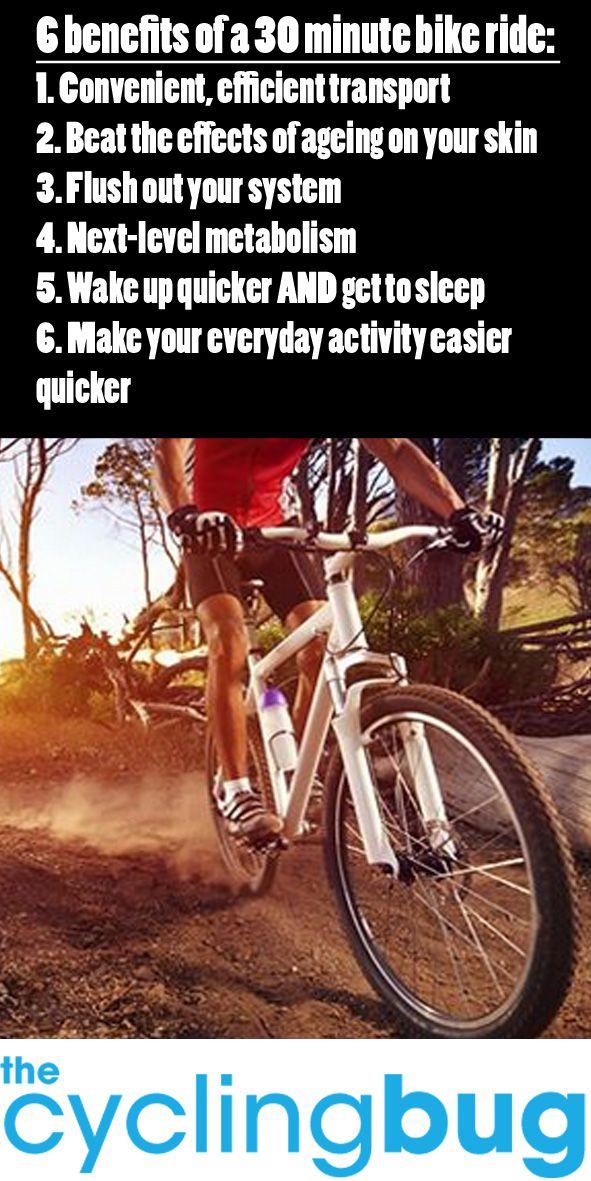 6 Benefits Of A 30 Minute Bike Ride Bike Riding Fitness Bike