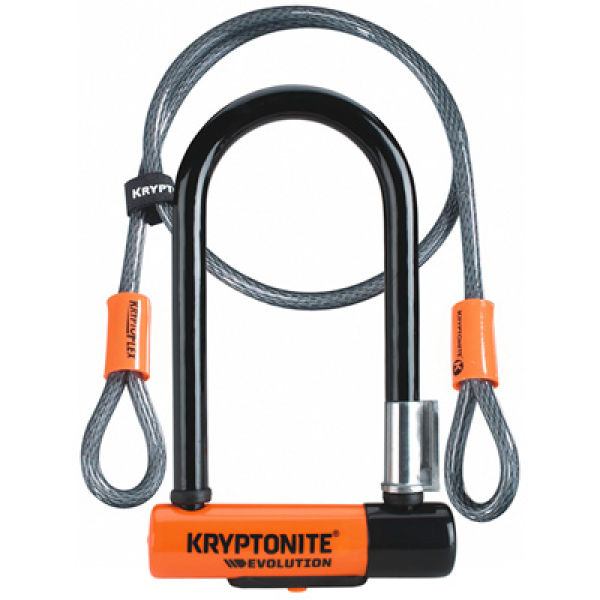 Kryptonite Evolution Kryptolok Mini With Cable Bike Locks