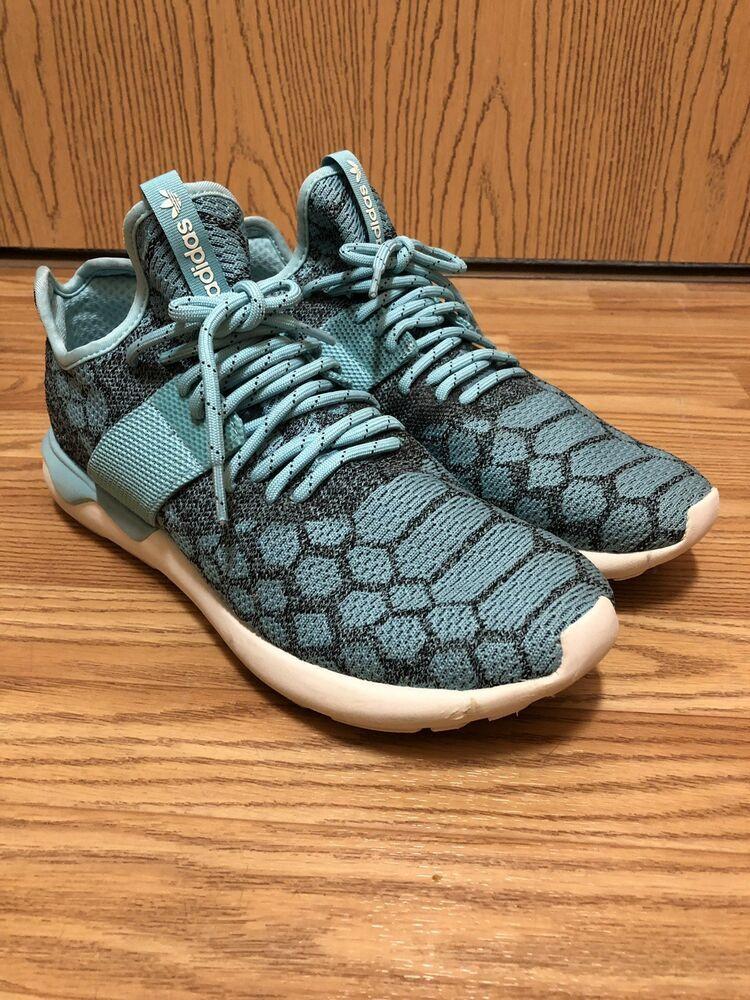 ae96c6f3338 Adidas Tubular Runner PrimeKnit Spice Blue Mens Size 10 EUC  fashion   clothing  shoes  accessories  mensshoes  athleticshoes (ebay link)