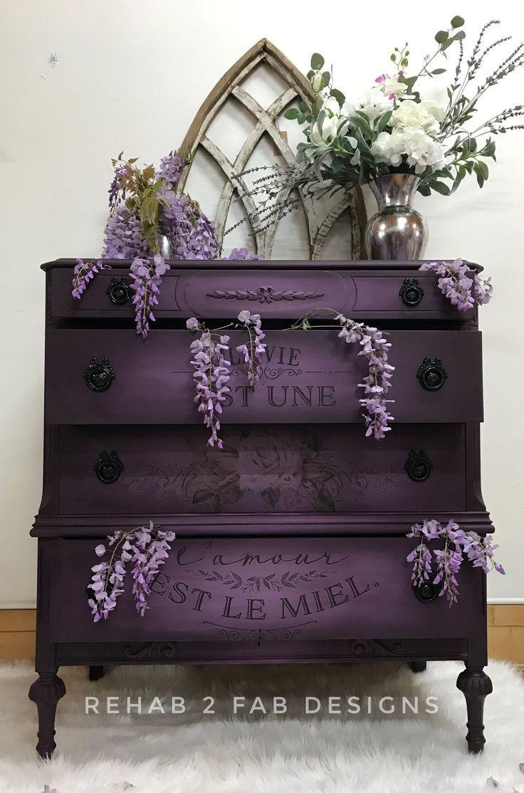 Photo of Black Cherry Dresser Painting Tutorial – Wood Decor Ideas