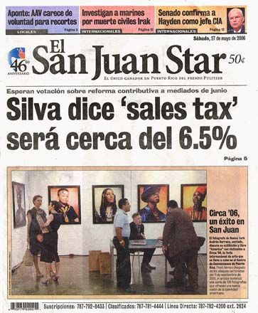 In 1959 The San Juan Star Newspaper Is Founded 1961