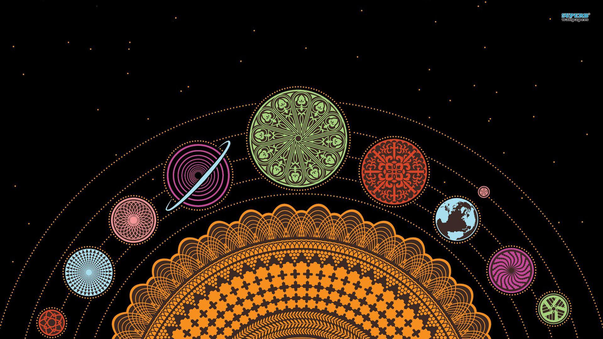 Spiral Solar System Wallpaper Wide Hd Wallpaper Site Solar