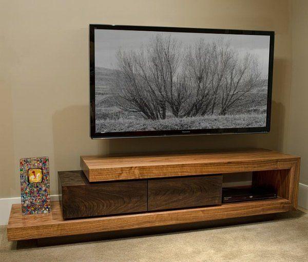 Meubles télé en bois pour un look rustique ou classique | Meuble ...