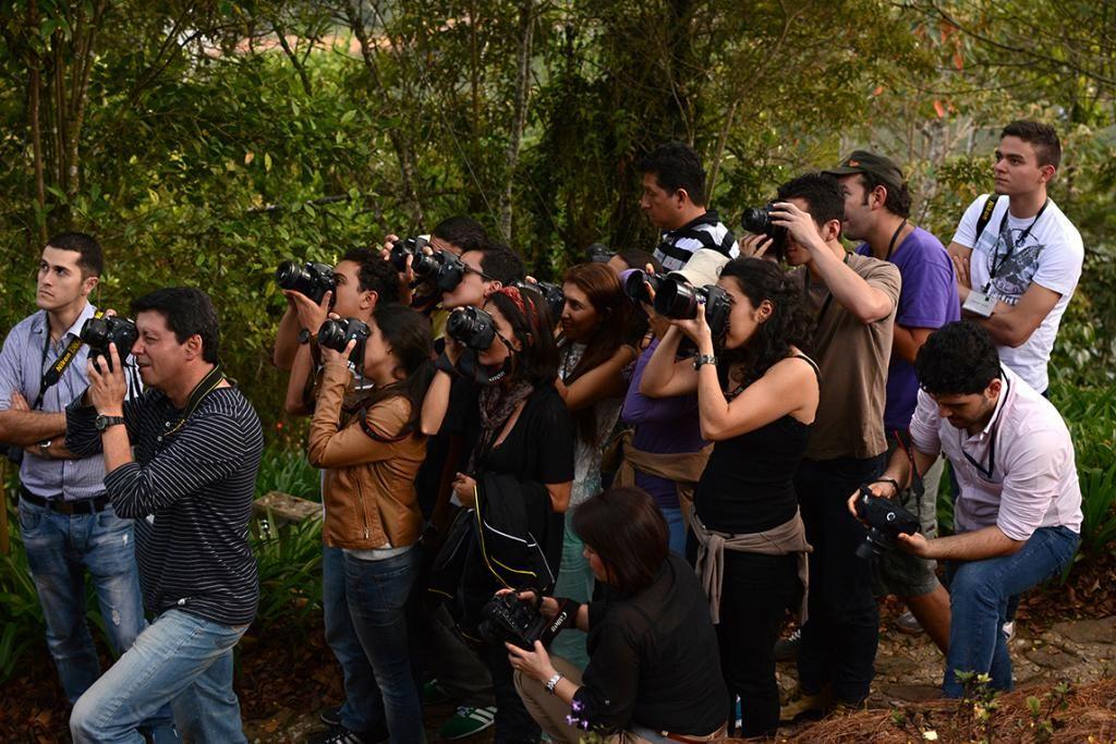 Los fotógrafos que estuvieron, junto con gabo, estudiando con Juyá Gentil :D