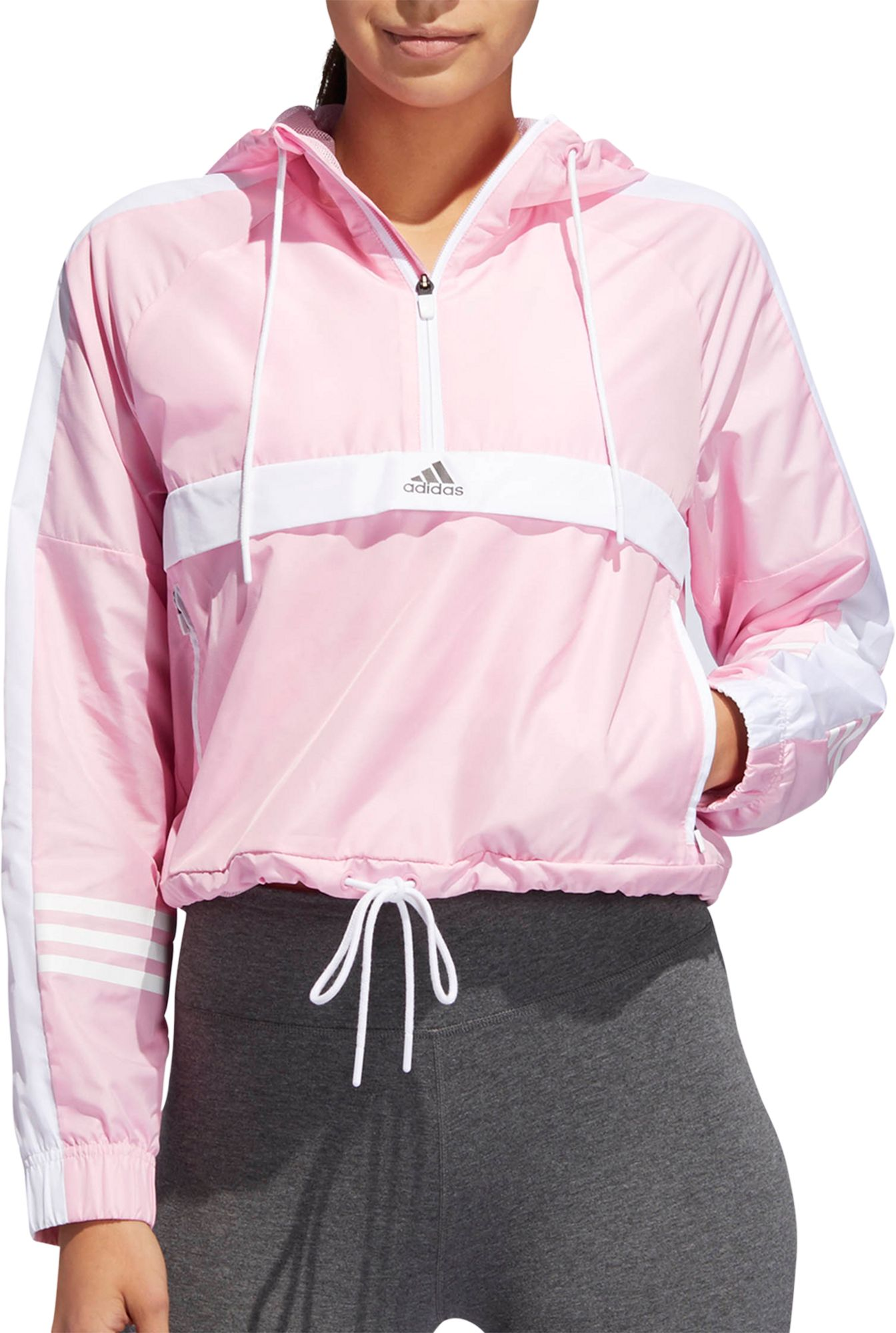 adidas Women's ID Wind Half Zip Jacket (fr) Dick'S Articles