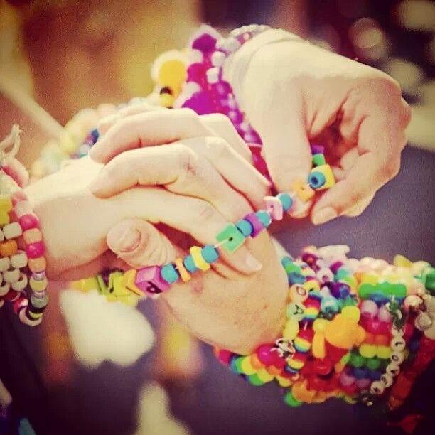 Trading Kandi Bracelets
